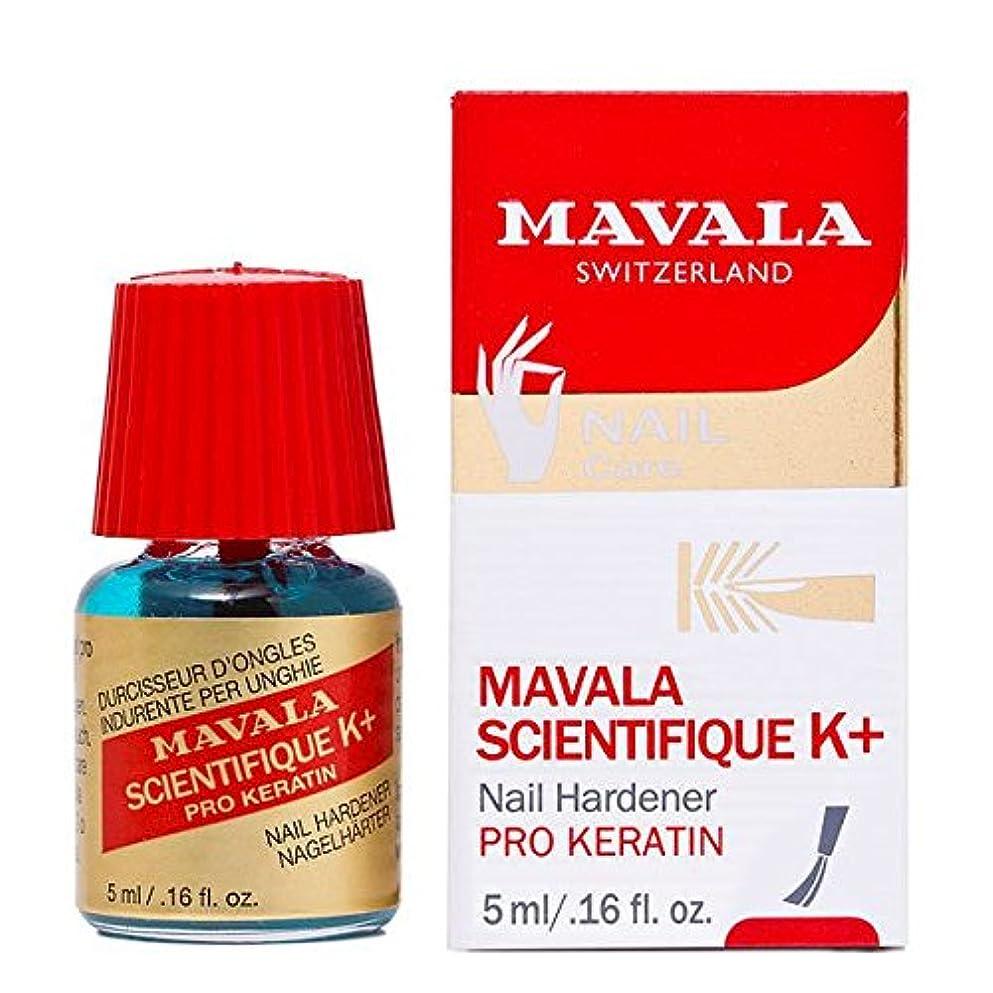 たくさん傷つきやすい楽しいマヴァラ サイエンティフィックKプラスネイルハードナー 5ml [並行輸入品]