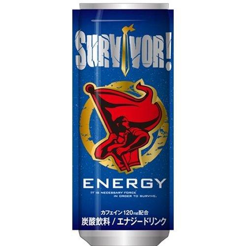 富永食品 SURVIVOR! エナジードリンク 250ml(2箱) 60本