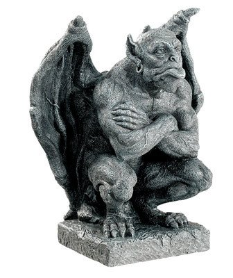 ゴシックガーゴイル デイモス スタチュー(像) Gothic Deimos Gargoyle Statue