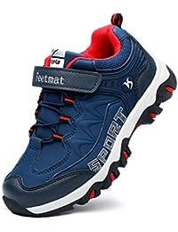 Feetmat スニーカー キッズ 子供靴 ランニングシューズ 防水 アウトドア ハイキング 運動靴 通学