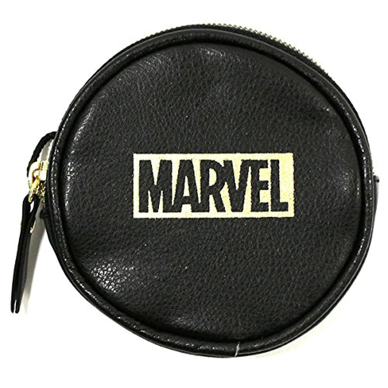 Marvel ロゴ コインケース