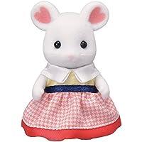 シルバニアファミリー 人形 マシュマロネズミの女の子