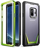 Samsung Galaxy S9 ケース、ポエティック・ガーディアン、Samsung Galaxy S9 ケース [傷がつかない360度プロテクション]フルボディー・..