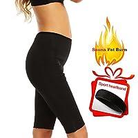 Kheja Womens Hot汗ボディシェイパーby jelleo、Fat Burnerスリミングサウナベストスーツ、タンクトップ、重量損失のシェイプウェア X-Large