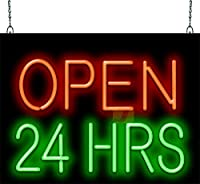 Jantec SignグループOpen 24 Hours Neon Sign