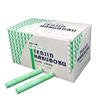 日本白墨工業  天神印チョーク 100本入り 緑CH-5