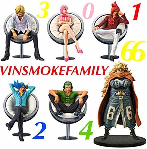 ONEPIECE DXフィギュア THE GRANDLINE SERIES! VINSMOKE FAMILY ジェルマ66 全6種 コンプリート