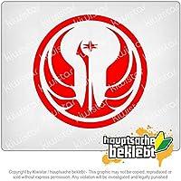 銀河共和国 Galactic Republic 10cm x 10cm 15色 - ネオン+クロム! ステッカービニールオートバイ