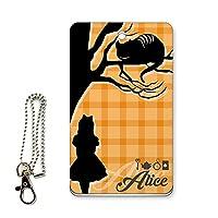 ICカード用パスケース 定期入れ アリス オレンジ