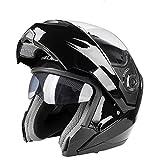 フリップアップヘルメット ヘルメット 春 夏 秋 冬 システムヘルメット ダブルシールド バイクヘルメット PSC付き YHZ-74[商品02/L]