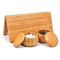 囲碁セット囲碁 碁盤セット 携帯便利 折り畳み式碁盤盤(44omm*470mm)