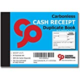 Cherry Carbonless NCR Cash Receipt Duplicate Book A6 (105mm x 148mm) 50 Sets
