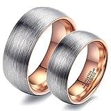 Rockyu ジュエリー ブランド 人気 リング 結婚 婚約指輪 ペアリング メンズ ゴールド 南米エスニック ファッション タングステン 指輪 16号