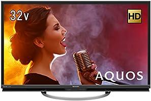 シャープ AQUOS 32V型 ハイビジョン液晶テレビ 直下型LEDバックライト アナログRGB端子付 裏番組録画対応 LC-32W5