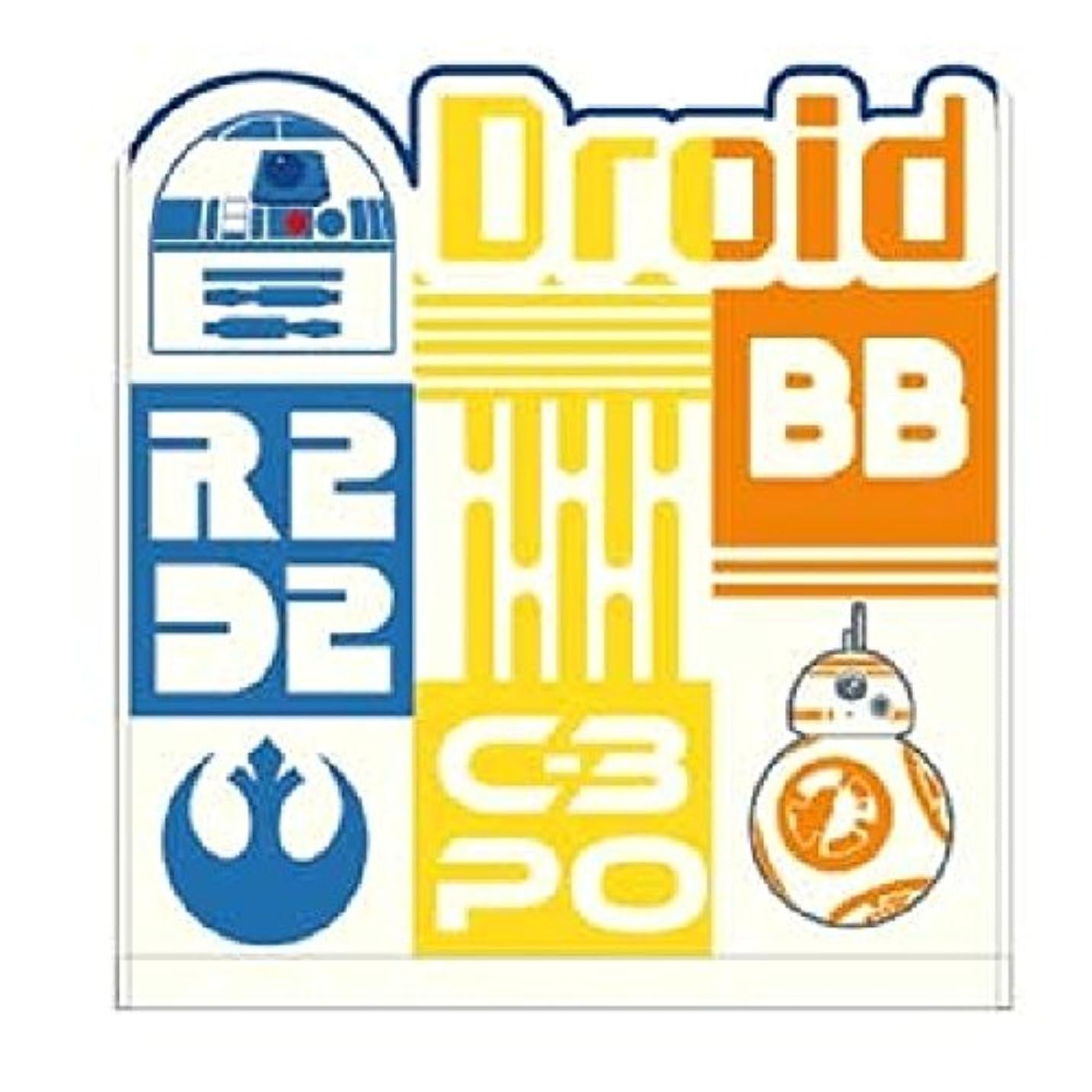 ボンドクスコエンターテインメントMarushin Star Wars WashタオルChambreホワイトDroid r2 - d2 BB - 8 C3po