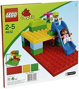 レゴ (LEGO) デュプロ 基礎板ミニ(赤・緑・黄)4632