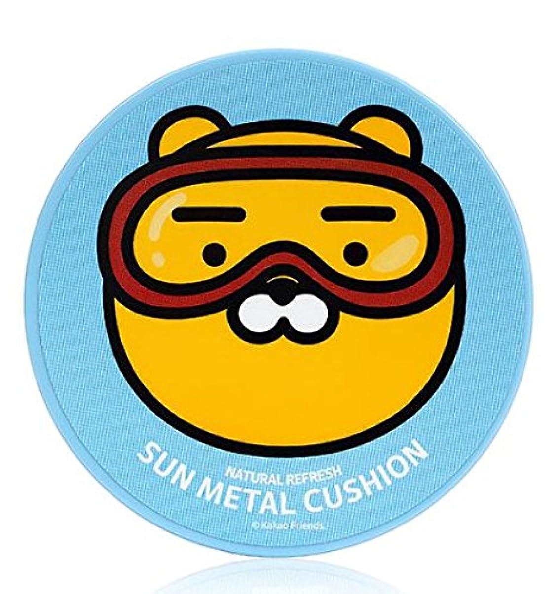 解放する途方もないきしむOn:the body*Kakao Natural Refresh Sun Metal Cushion 15g SPF50+/PA+++ [並行輸入品]