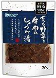 Delcy 彩るつまみつけもの 七つの野菜と牛肉のしょうゆ漬 70g×10個