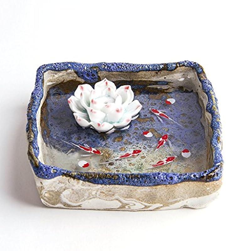 コンセンサスログ柔らかさお香立て お香たて 香の器 お香を焚いて 香皿,陶磁器、ブルー