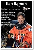 Astronautイーラーン・ラーモン–最初Israeli Astronaut In Space–新しいポスター