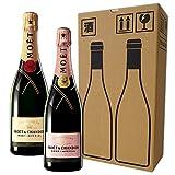 【モエ アンペリアル・モエ ロゼ アンペリアル】シャンパン飲み比べ 2本セット 750ml×2本 [ 750ml 2本セット(モエ アンペリアル) ] 画像