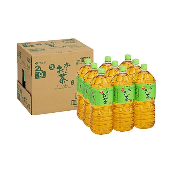 伊藤園 おーいお茶 緑茶 2L×9本の商品画像
