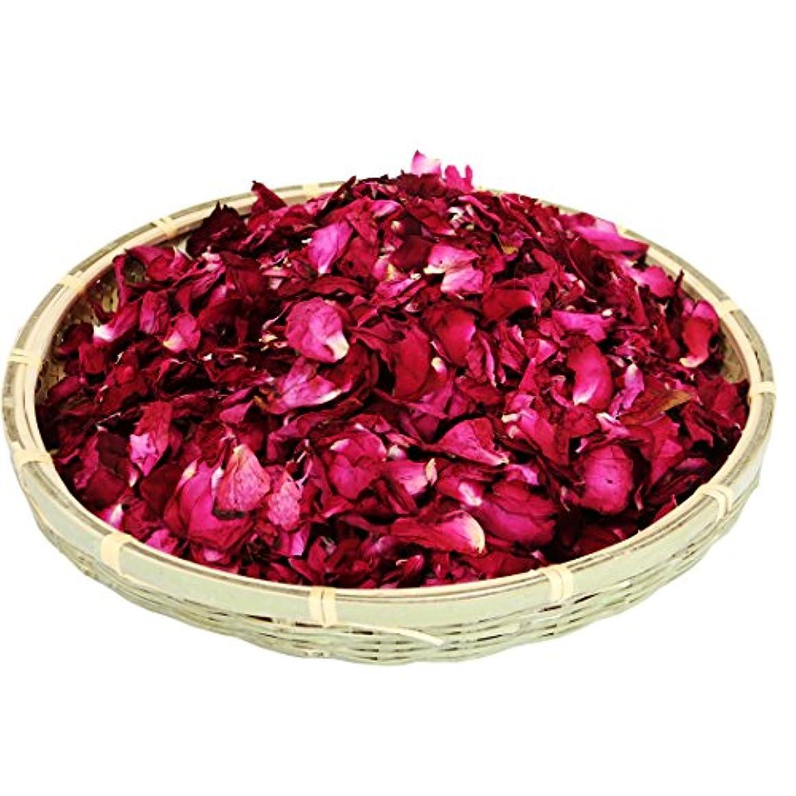 農民思慮深い不格好Gbcyan 乾燥した天然の赤いバラの花びら ウェディングパーティーのデコレーションに 結婚式のテーブル 紙吹雪のポット 花びら ギフトボックスの詰め物 ボディウォッシュ フットウォッシュ ロマンチックな夜 ポプリ お風呂の塩