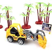 baynneモデルToy Car Mini Construction Vehicleエンジニアリング車トラック子供ギフト