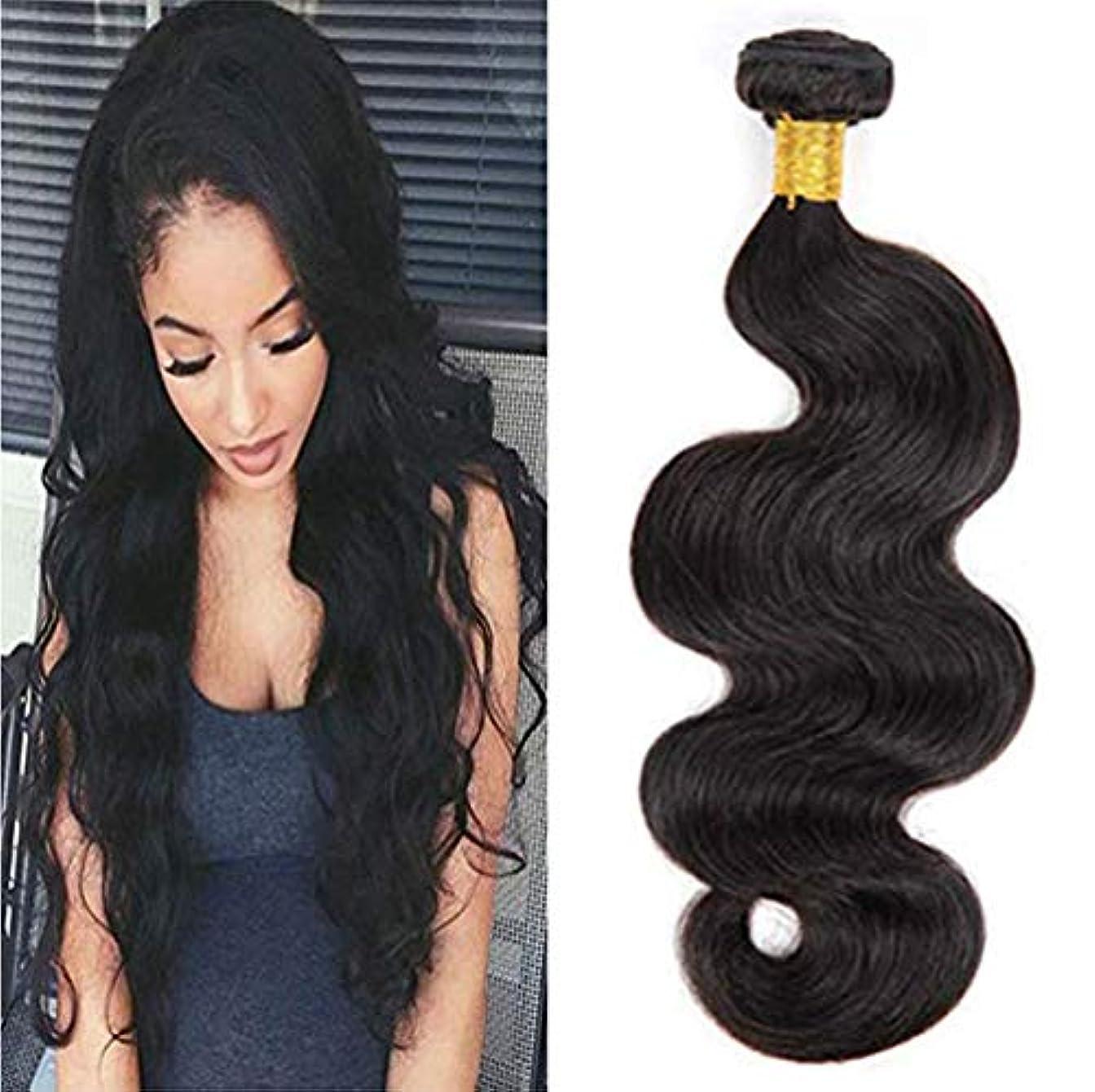 チャームギャング小競り合い女性の髪織り8aブラジルバージンヘアバンドルで前頭ブラジル緩い波人間の髪の毛閉鎖緩い波