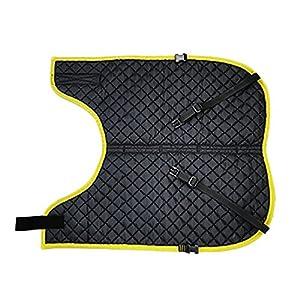 カーフジャケット CFジャケット2【 Mサイズ 裏地キルティング 】 仔牛や仔馬の防寒 体調管理 ワンタッチ脱着