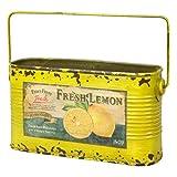 GREENHOUSE リメイクフルーツ缶ポット ワイドドロップ缶 イエロー 3644-YE