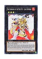 遊戯王 英語版 CBLZ-EN099 Brotherhood of the Fire Fist - Lion Emperor 炎星皇-チョウライオ (スーパーレア) 1st Edition