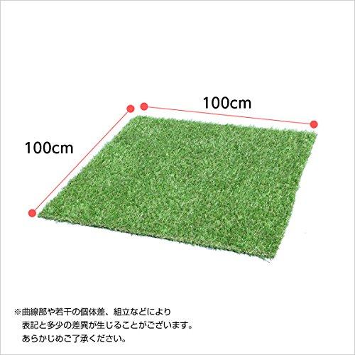 人工芝 ガーデンターフ ガーデニング ロールタイプ 1x1m