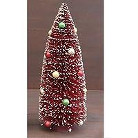 ボールデコ クリスマスツリー レッド Lサイズ