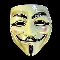 Baomabao クールハロウィン仮面舞踏会面マスク V for Vendetta ガイ・フォークス ファンシードレスパーティー by Baomabao _ハロウィン