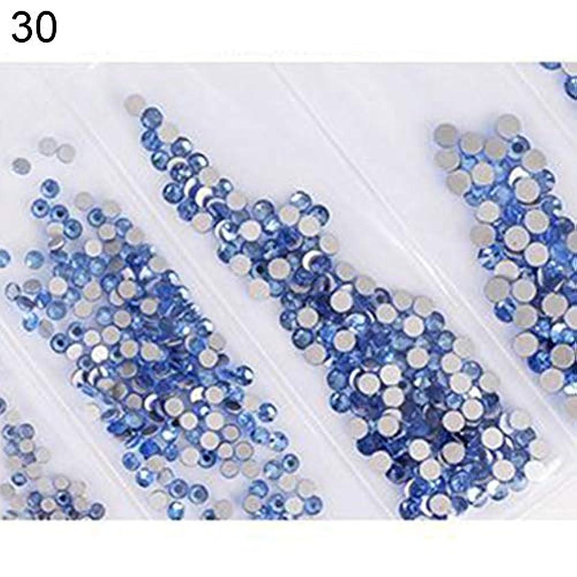 選択する単なるマルクス主義者hamulekfae-6ピース光沢のあるフラットガラスラインストーンネイルアートの装飾diyマニキュアのヒントツール 30#