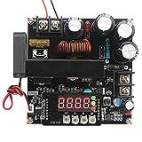 DC数値制御電源電圧レギュレータ、可変DC 8-60V〜10-120V昇圧コンバータ昇圧、電圧安定器プログラマブルな定電流電源、15A充電器LEDディスプレイ電圧計電流計