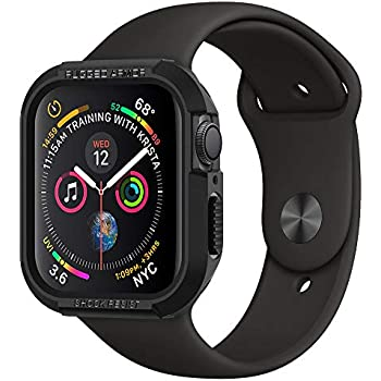 d477924cf0bcb  Spigen  Apple Watch Series 4 40mm 対応 ケース 落下 衝撃 吸収 タフネスデザイン ラギッド・アーマー  061CS24480 (ブラック)