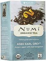 Organic Teas and Teasans, 1.27 oz, Aged Earl Grey, 18/Box (並行輸入品)