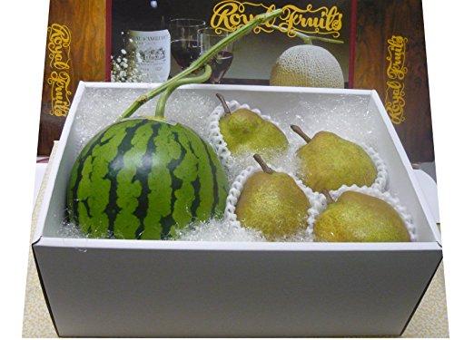 「高級ギフト」小玉すいかルナピエナ、ラフランス 東洋フルーツ(有)