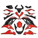 BigOne (ビッグワン) Ninja250 カウル 外装セット ニンジャ250 EX250L GPZ900R仕様 赤/黒 45960