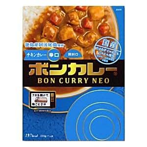 大塚食品 ボンカレーネオ 徳島産阿波尾鶏 チキンカレー 辛口 220g 5コ入り