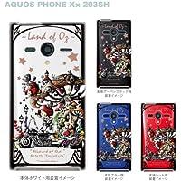 【Little Kingdom Story】【AQUOS PHONE Xx 203SH】【203SH】【SoftBank】【ケース】【カバー】【スマホケース】【Clear Arts】【クリアケース】【オズの魔法使い】【ドロシー】【童話シリーズ】 25-203sh-am0029