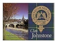 Johnstone Scottish Clan Metallic Picture Fridge Magnet