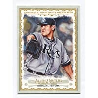 Matt Moore - 2012 Topps Allen & Ginter Baseball Highlight Sketches #13