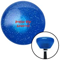 American Shifter 290169 Shift Knob (Red Praise The Lowered Blue Retro Metal Flake with M16 x 1.5 Insert) [並行輸入品]