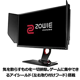 BenQ ゲーミングモニター ディスプレイ ZOWIE XL2546 24.5インチ/フルHD/DisplayPort,HDMI,DVI-DL搭載/240Hz/1ms/Dyac技術搭載