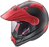 アライ(ARAI) バイクヘルメット オフロード TOUR CROSS3 フラットブラック レッド 59-60 L 2261313