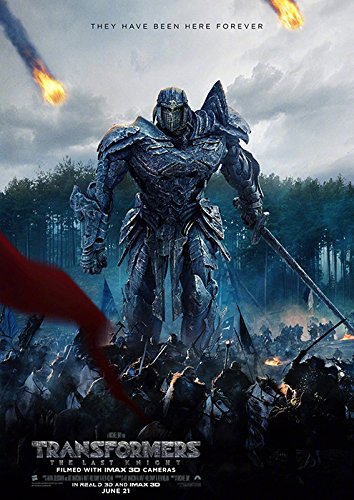 映画 トランスフォーマー 最後の騎士王 ポスター 42x30cm Transformers: The Last Knight オプティマス プライム バンブルビー ディセプティコン マーク ウォールバーグ ローラ ハドック ジョシュ デュアメル タイリース ギブソン