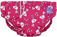 Bambino Mio Reusable Swim Nappy, Pink Flamingo, Medium (6-12 Months)